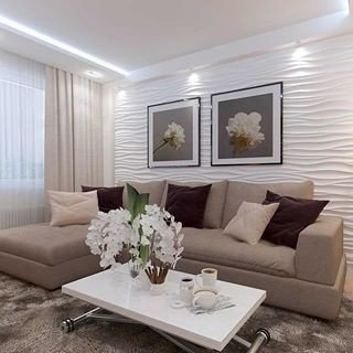 Oturma Odası Duvar Çıta Modelleri
